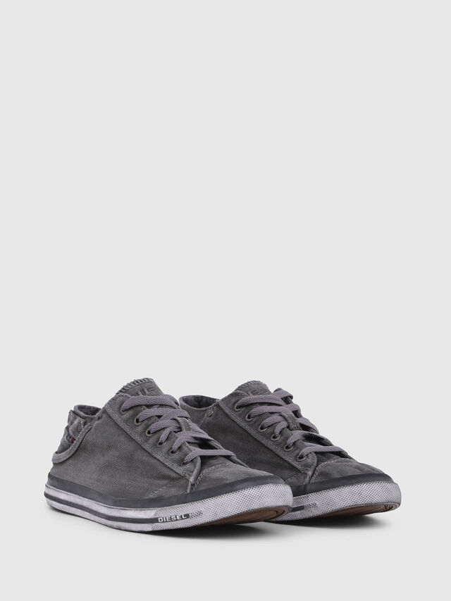 Diesel - EXPOSURE LOW I, Metal Grey - Sneakers - Image 2