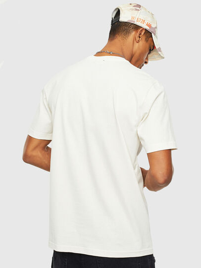 Diesel - T-JUST-T14, White - T-Shirts - Image 2