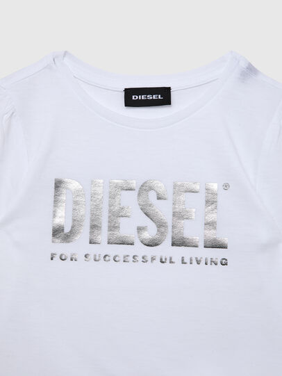 Diesel - TRASSYB-R, White - T-shirts and Tops - Image 3