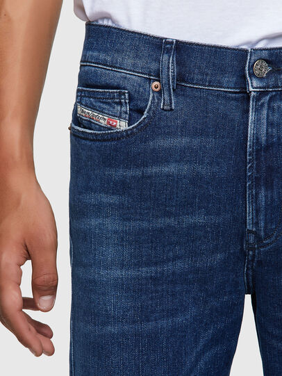 Diesel - D-Istort 009ZX, Dark Blue - Jeans - Image 4