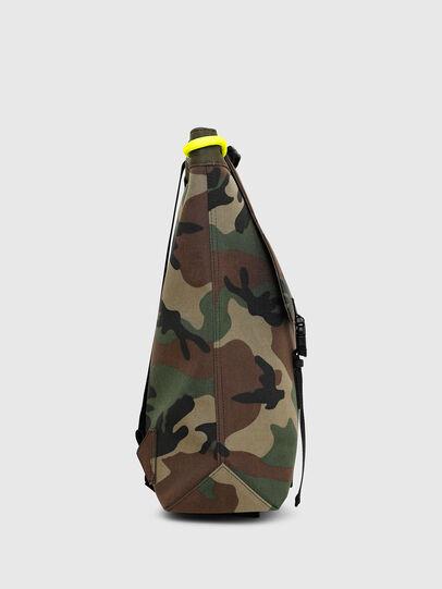 Diesel - VOLPAGO BACK, Green Camouflage - Backpacks - Image 3