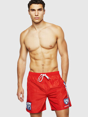 BMBX-WAVENEW, Red - Swim shorts