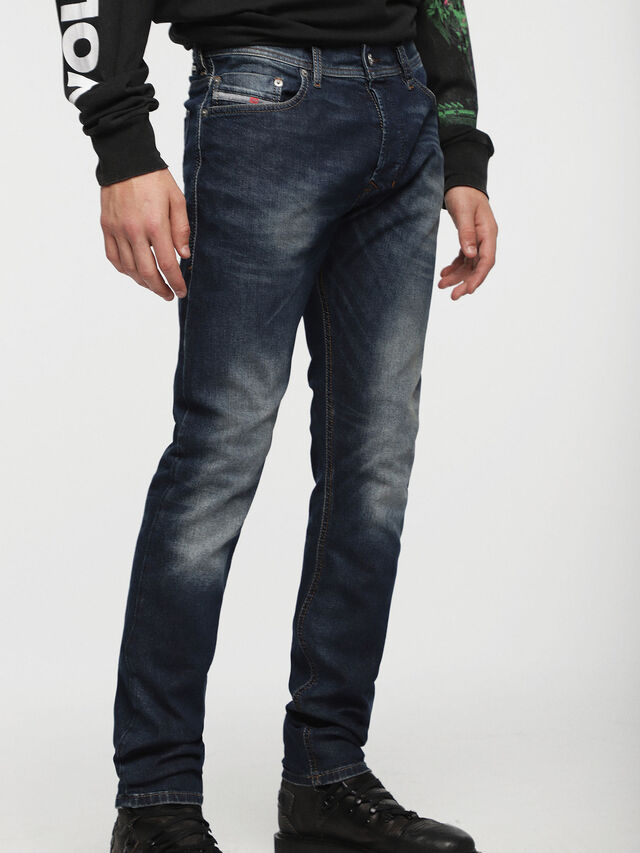 Diesel - Tepphar 0853R, Dark Blue - Jeans - Image 1