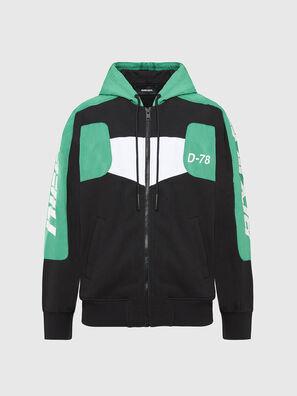 S-JAKLER, Black/Green - Sweaters