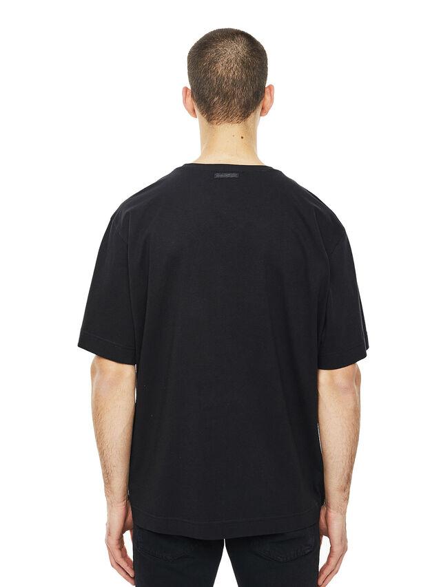 Diesel - TEORIAL-COWBOY, Black - T-Shirts - Image 2