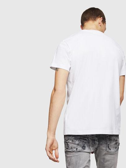 Diesel - T-DIEGO-B6, White - T-Shirts - Image 2