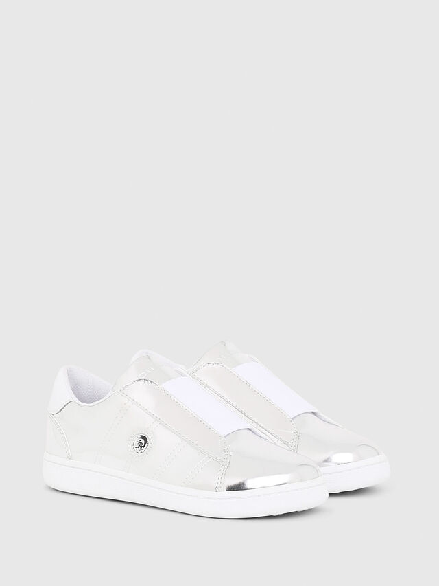 Diesel - SLIP ON 11 FULL COLO, Silver - Footwear - Image 2