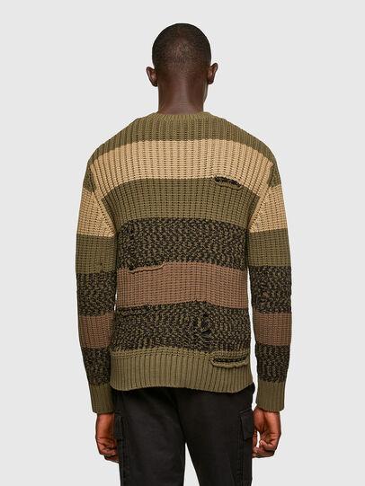 Diesel - K-COBALT, Military Green - Knitwear - Image 2