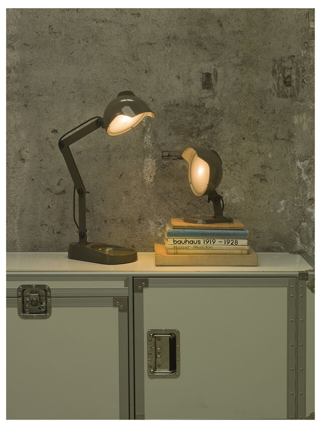 Diesel - DUII TAVOLO, Green/Grey - Table Lighting - Image 4