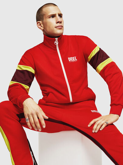 Diesel - S-AKON, Fire Red - Sweaters - Image 4