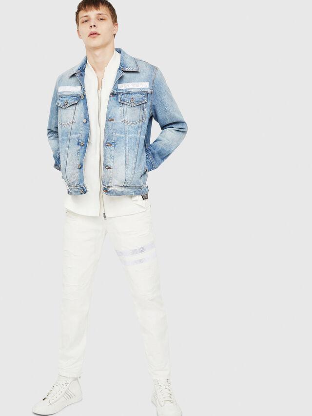 Diesel - NHILL-TM, Blue Jeans - Denim Jackets - Image 5