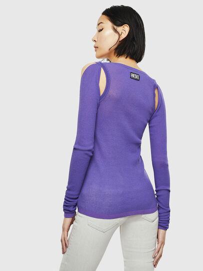Diesel - K-SIMONA, Violet - Knitwear - Image 2