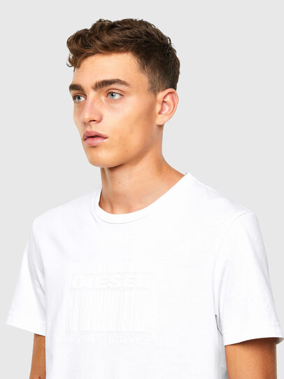 Diesel - T-DIEGOS-N35, White - T-Shirts - Image 3
