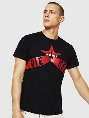 T-DIEGO-A7, Black - T-Shirts