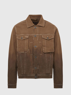 D-YOGI-SP JOGGJEANS, Brown - Denim Jackets