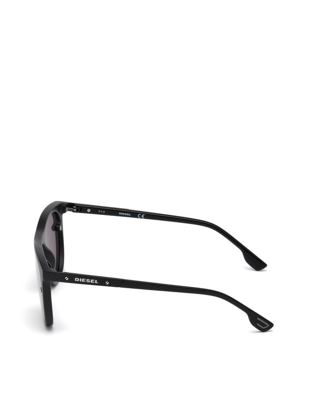 Diesel - DL0217, Black - Sunglasses - Image 3