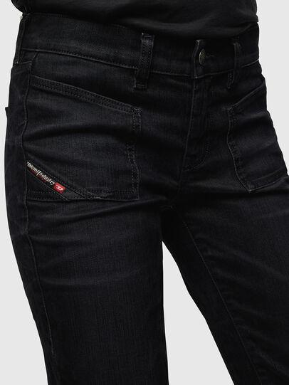 Diesel - D-Ebbey 0091I, Black/Dark grey - Jeans - Image 3