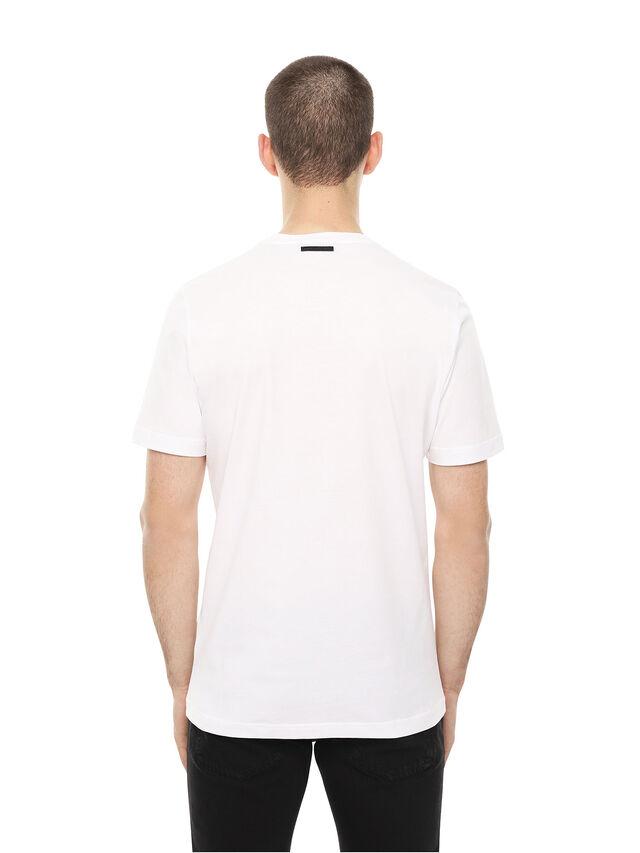 Diesel - TY-ARPDAVIS, White - T-Shirts - Image 2