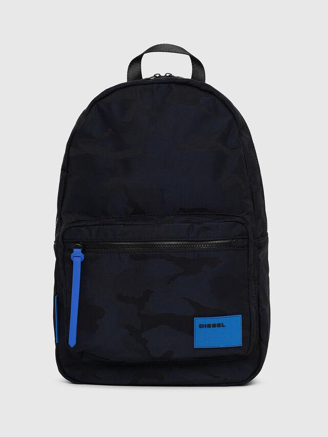 Diesel - F-DISCOVER BACK, Blue - Backpacks - Image 1