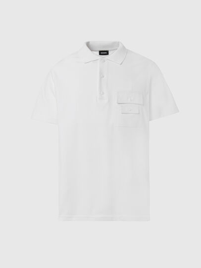 Diesel - T-TASK-POLO, White - Polos - Image 1