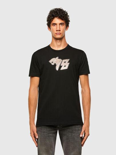 Diesel - T-DIEGOS-N29, Black - T-Shirts - Image 1