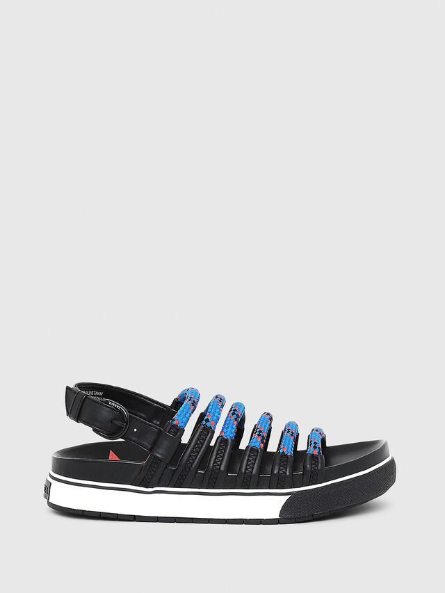 Diesel - SA-GRAND LC W, Black/Blue - Sandals - Image 1