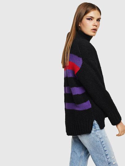 Diesel - M-CARA, Black - Knitwear - Image 6