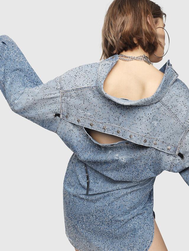 Diesel - DE-SUP-S, Blue Jeans - Dresses - Image 6