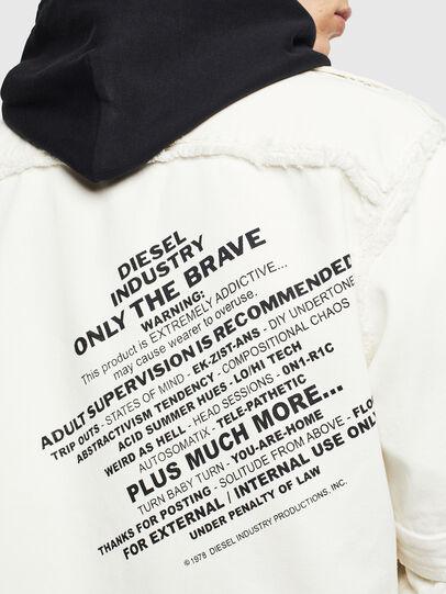 Diesel - D-KURTIS,  - Denim Shirts - Image 8