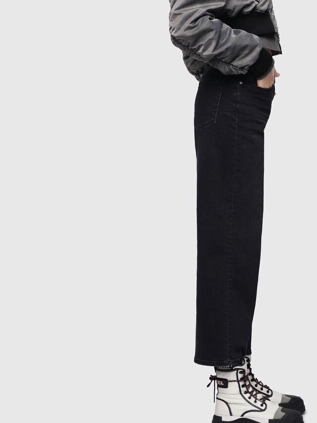 Diesel Widee 084HQ, Black/Dark grey - Jeans - Image 3