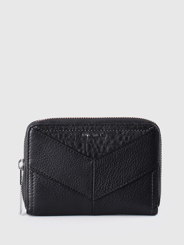 Diesel - JADDAA, Black Leather - Small Wallets - Image 1