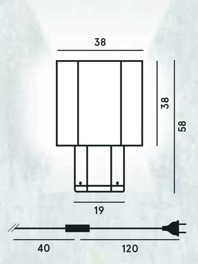 Diesel - HEXX TAVOLO, Anthracite - Table Lighting - Image 2