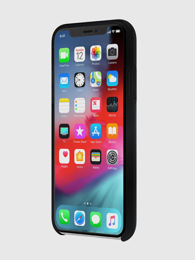 Diesel - DIESEL PRINTED CO-MOLD CASE FOR IPHONE XS MAX, Black - Cases - Image 3