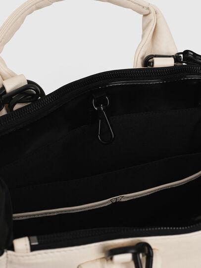Diesel - HAUNYA, White - Shopping and Shoulder Bags - Image 7