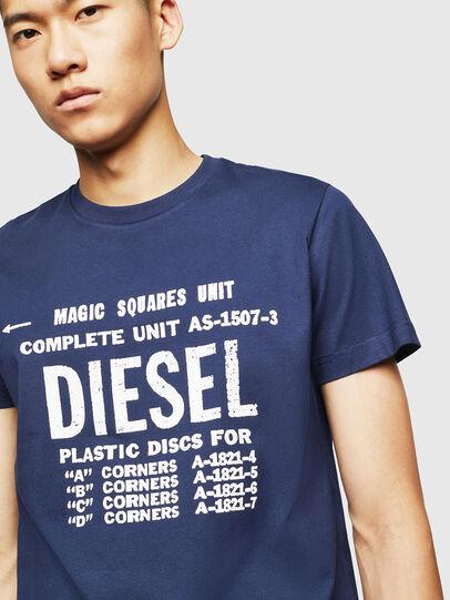 Diesel - T-DIEGO-B6, Blue - T-Shirts - Image 3