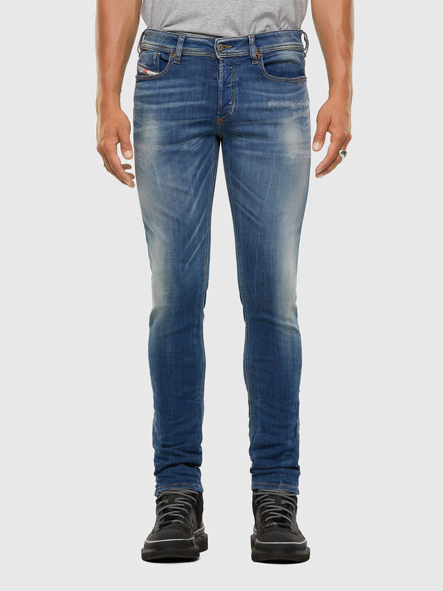 Sleenker 009FC, Medium blue - Jeans