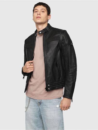 Diesel - L-YUJA,  - Leather jackets - Image 1