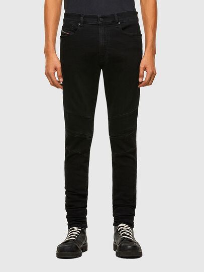 Diesel - D-Amny 009RB, Black/Dark grey - Jeans - Image 1