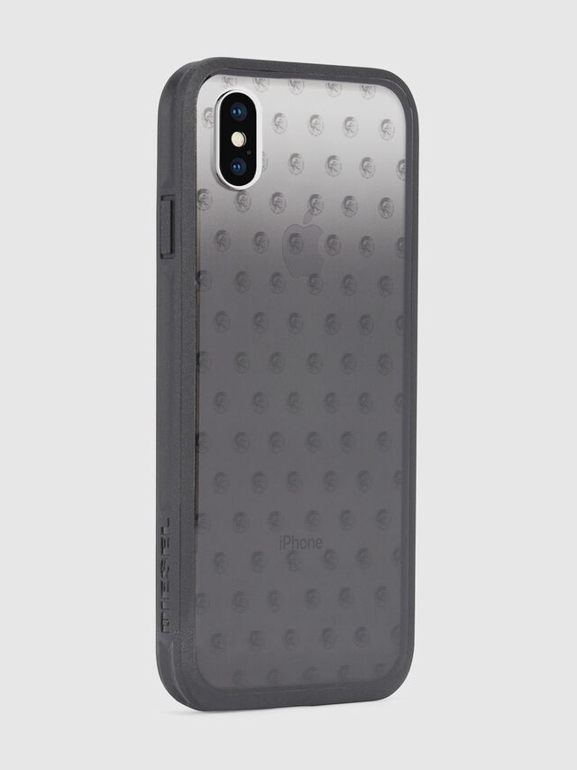 Diesel - MOHICAN HEAD DOTS BLACK IPHONE X CASE, Black/Grey - Cases - Image 5