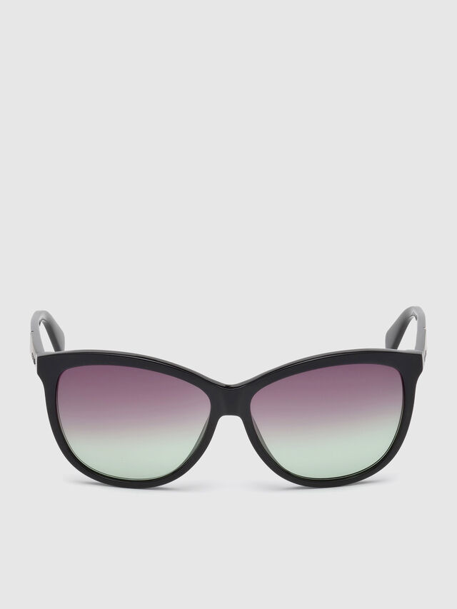 Diesel - DL0221, Black - Sunglasses - Image 1