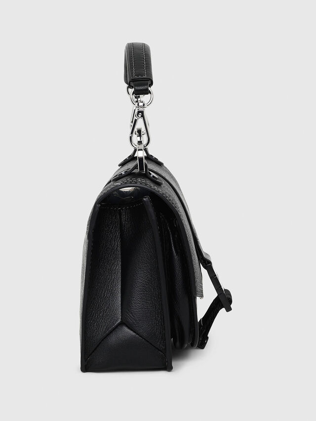 Diesel - MISS-MATCH CROSSBODY, Opaque Black - Crossbody Bags - Image 3