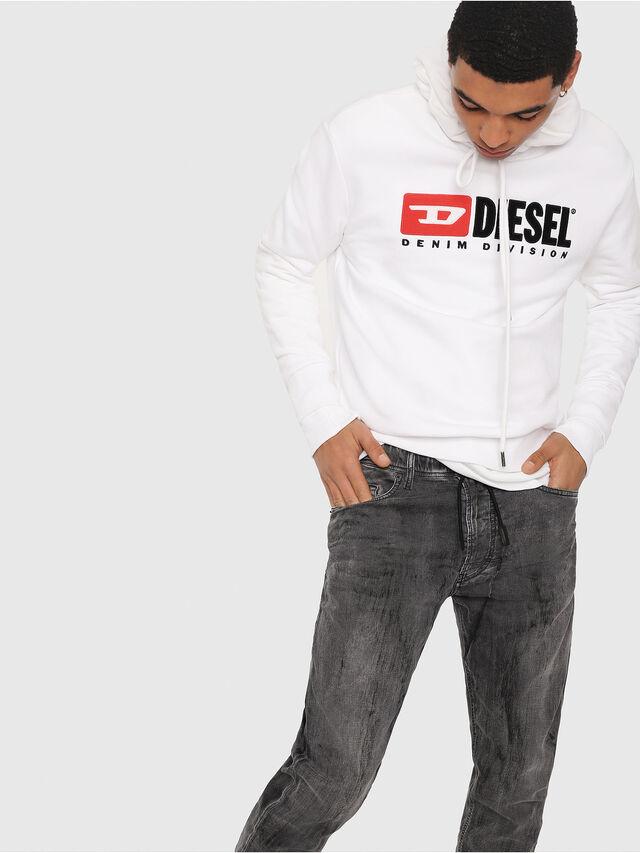 Diesel - Narrot JoggJeans 8880U, Black/Dark grey - Jeans - Image 3