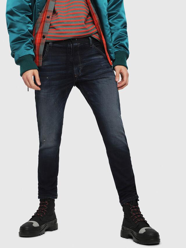 Diesel - Krooley JoggJeans 069DQ, Dark Blue - Jeans - Image 1