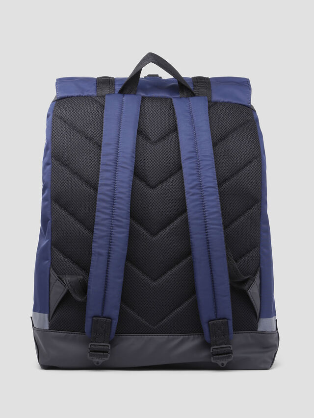 Diesel - VOLPAGO BACK, Blue - Backpacks - Image 2