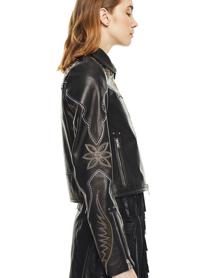 Diesel - LEXIA,  - Leather jackets - Image 4