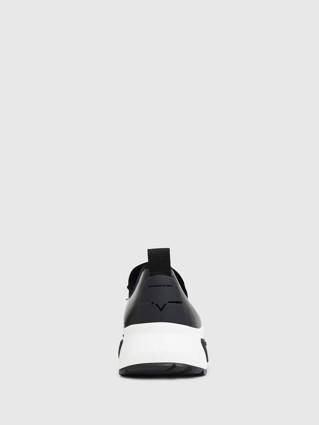 Diesel S-KBY, Black Leather - Sneakers - Image 6