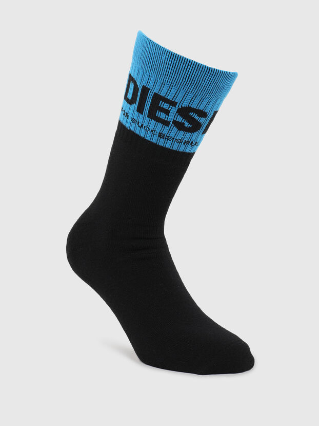 SKM-RAY, Black/Blue - Socks