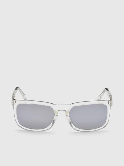 Diesel - DL0262, White - Sunglasses - Image 1