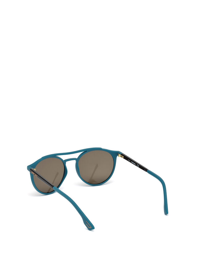 Diesel DM0195, Blue - Eyewear - Image 2