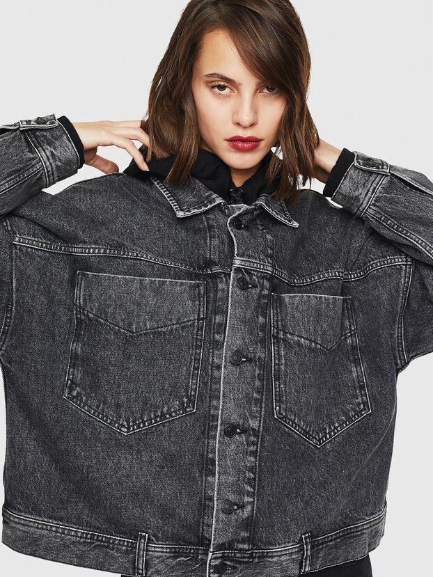 DE-JALA, Black/Dark grey - Denim Jackets